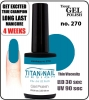 Hybrydowy lakier - GEL Polish 8ml- soak off - Kamikaze (no. 270)