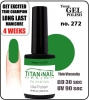 Hybrydowy lakier - GEL Polish 8ml- soak off - Mojito (no. 272)
