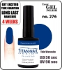 Hybrydowy lakier - GEL Polish 8ml- soak off - Royal Prince (no. 276)