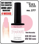 Hybrydowy lakier - GEL Polish 8ml- soak off - Royal Girl (no. 277)
